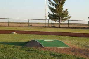 Equipamento de basebol Usado pelos Pros