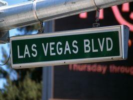 Las Vegas Strip Guia de Caminhando