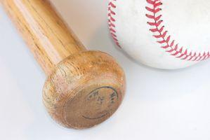 Madeira bastão de beisebol projetos Versus alumínio bastão de beisebol Designs