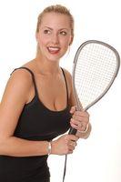 Squash Racket Comparação