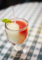 Rum bebidas com leite de coco