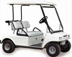 Como é que um gás Golf Cart funciona?