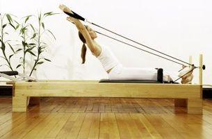 Exercícios Avançado Pilates Reformer