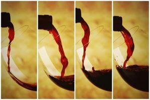 Como medir cinco onças de vinho