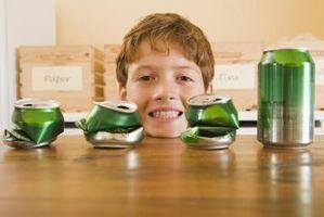 Quais são as abas em latas de Coca-Cola Made Of?