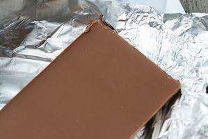 Leite caseiro Barras de chocolate