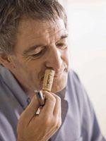 Como definir Wine Cork Profundidade