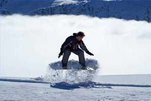 Como parar Enquanto Snowboarding