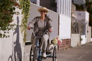 Como levantar Guidão em triciclos Adulto