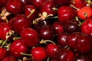 Coisas para comer com cerejas
