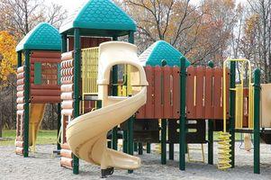 Regulamentos para equipamentos de Parque Infantil para crianças pré-escolares