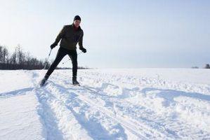 Como esqui nórdico na Alemanha
