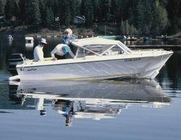 Como eu Tune Up um motor de popa Johnson 70hp 1988?
