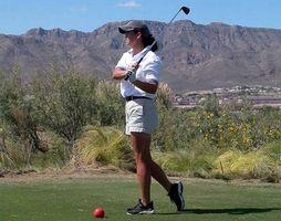 Como Fit Clubes de Golfe para uma mulher